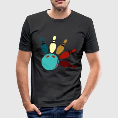 To Skittle Bowling skittle gift - Men's Slim Fit T-Shirt