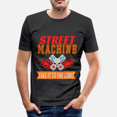 Gizmo and adventurous tee design for street machine - Men's Slim Fit T-Shirt