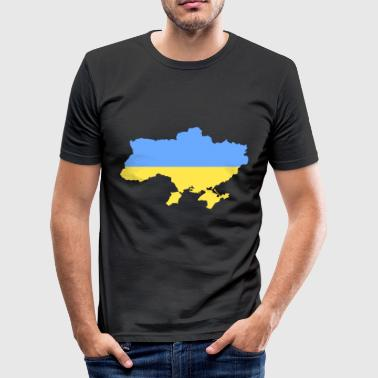 ukraine - Herre Slim Fit T-Shirt