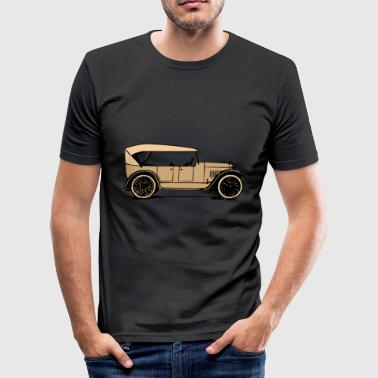 vintage car - Männer Slim Fit T-Shirt