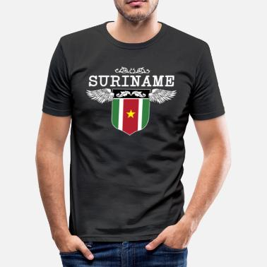 Suriname Suriname Wings - slim fit T-shirt