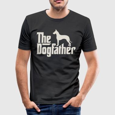 Danish Mastiff The Dogfather - German Danish Mastiff - Men's Slim Fit T-Shirt
