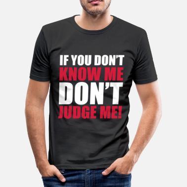 eab5ba40 Tupac Rap Don't Judge Me - Men's Slim