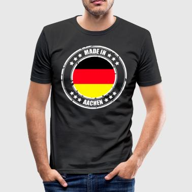 Aachen AACHEN - Men's Slim Fit T-Shirt