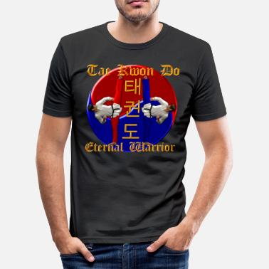Tae Kwon Do Tae Kwon Do Warrior - Herre Slim Fit T-Shirt