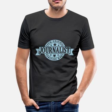 Journalist Journalist - Männer Slim Fit T-Shirt