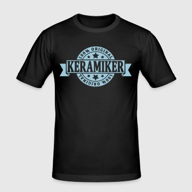 Keramiker - Männer Slim Fit T-Shirt