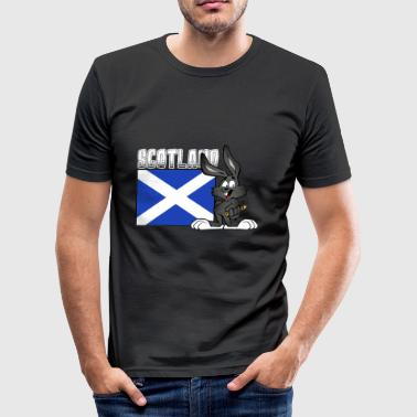 Edinburgh Lochness Scotland - Men's Slim Fit T-Shirt