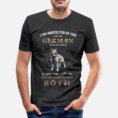 German Shepherd German Shepherd Dog - Men's Slim Fit T-Shirt
