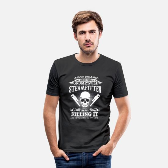 Craftsman T-Shirts - craftsman - Men's Slim Fit T-Shirt black