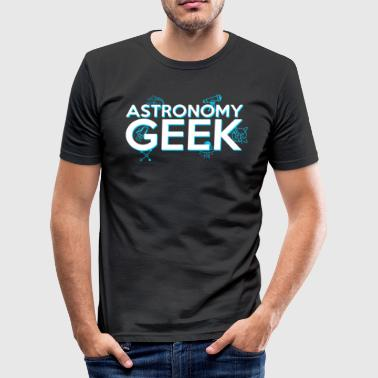 Surrealismus Astronomi astrologi teleskoper - Slim Fit T-skjorte for menn