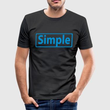 simple - slim fit T-shirt