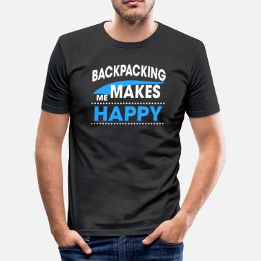 Backpack BACKPACKING - slim fit T-shirt