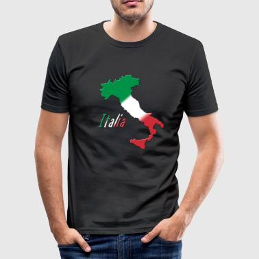 Italia - Männer Slim Fit T-Shirt