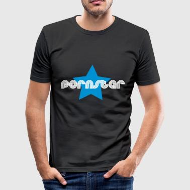 pornstar - Men's Slim Fit T-Shirt