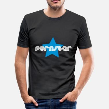 Porno Films pornstar - Men's Slim Fit T-Shirt