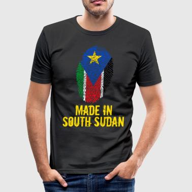 South Sudan Made In South Sudan / South Sudan - Men's Slim Fit T-Shirt