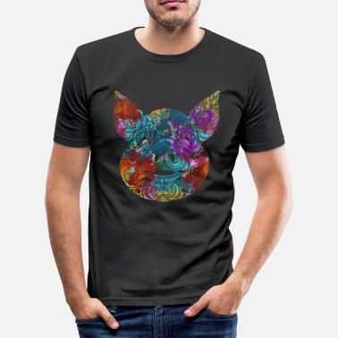Vlees Varken favoriet dier cadeau idee - slim fit T-shirt