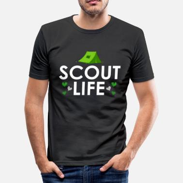 Scout Scout Life - Scout Life - Herre Slim Fit T-Shirt