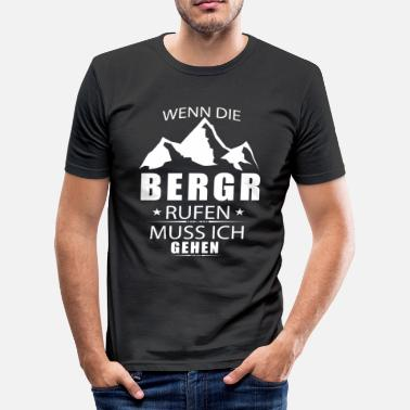 Berg Bergen - slim fit T-shirt