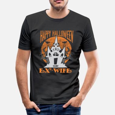 Ex Wife Happy Halloween to my EX - WIFE - Men's Slim Fit T-Shirt