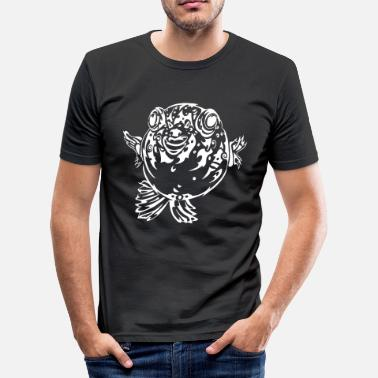 Blowfish Puffa Blowfish - Slim Fit T-shirt herr