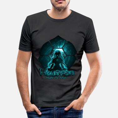 Halluzinogen Neutron - Männer Slim Fit T-Shirt