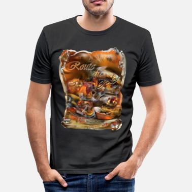Slippery route du gelei - slim fit T-shirt