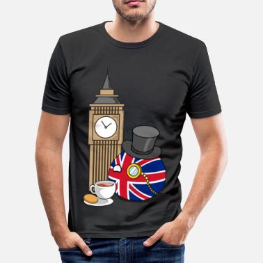 Polandball GreatBritainBall - Men's Slim Fit T-Shirt