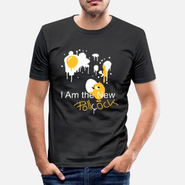 Enjoy Cock pollcock - Men's Slim Fit T-Shirt