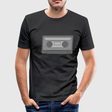 Old School Metal Old School Kassette - Männer Slim Fit T-Shirt
