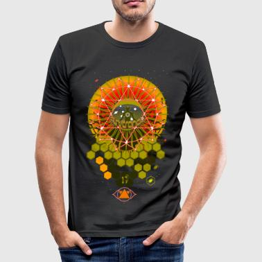 Psytrance / Goa - Men's Slim Fit T-Shirt
