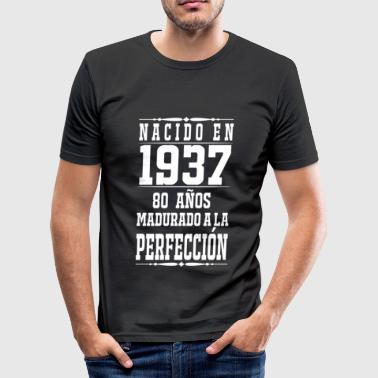 1937-80 years perfection - 2017 - it - Men's Slim Fit T-Shirt