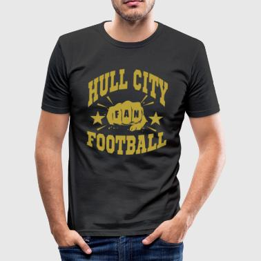 Hull Hull City Fan - T-shirt près du corps Homme
