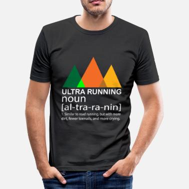 Ultraloop Ultra Running Run Skyrace Stage Race-cadeau - slim fit T-shirt