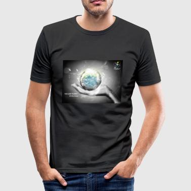 lost_planet - T-shirt près du corps Homme