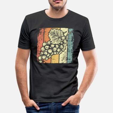 Wine Festival Wine festival wine grapes - Men's Slim Fit T-Shirt
