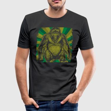 gorilla - Men's Slim Fit T-Shirt