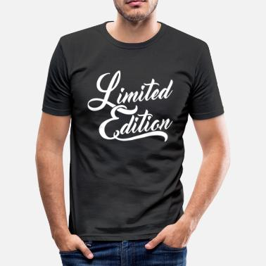 Limited Limited Edition - Men's Slim Fit T-Shirt
