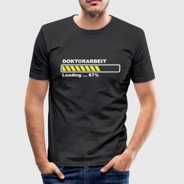 Doktorsavhandling - loading - Slim Fit T-shirt herr