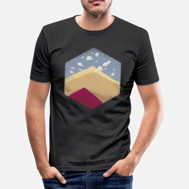 Surrealisme Dune / ørken / bjerg surrealisme - Herre Slim Fit T-Shirt