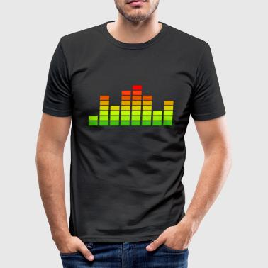 Equalizer - Männer Slim Fit T-Shirt