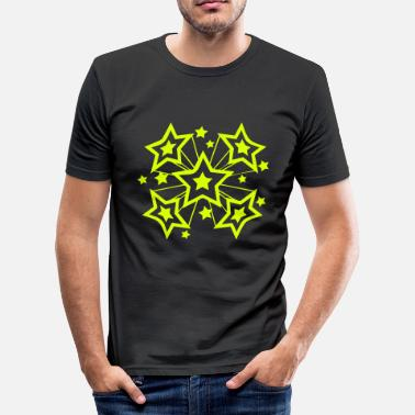 Starburst Starburst - Men's Slim Fit T-Shirt