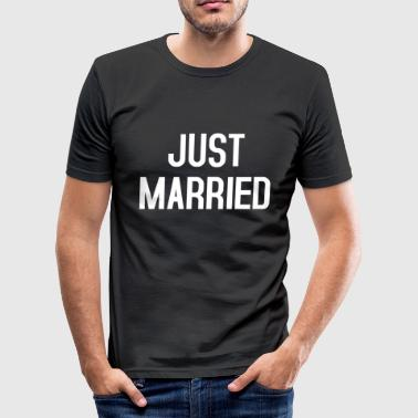Just Married Just Married - T-shirt près du corps Homme