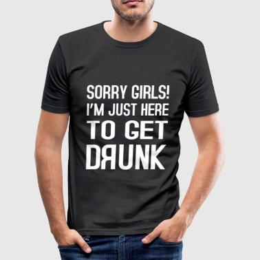 Sorry Girls - slim fit T-shirt