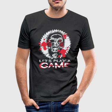 Horror Horror dukke, gave, horror, spil, horror clown - Herre Slim Fit T-Shirt