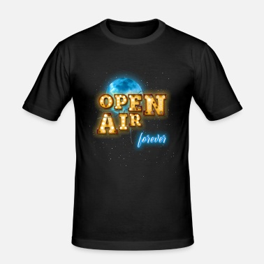 Open Air Open Air - Männer Slim Fit T-Shirt