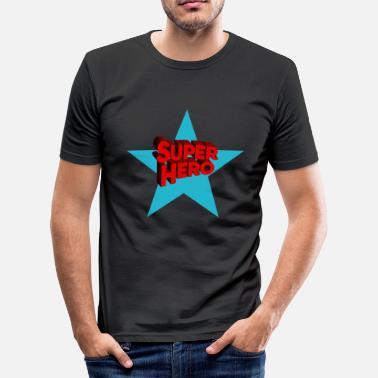Supereroe Supereroi supereroi - Maglietta slim fit uomo 1b5885e1106
