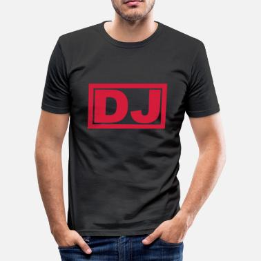 DJ - Men's Slim Fit T-Shirt