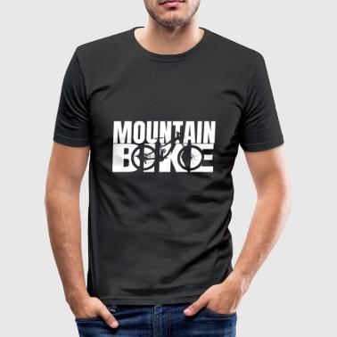 Mountain Bike MTB Downhill - Men's Slim Fit T-Shirt